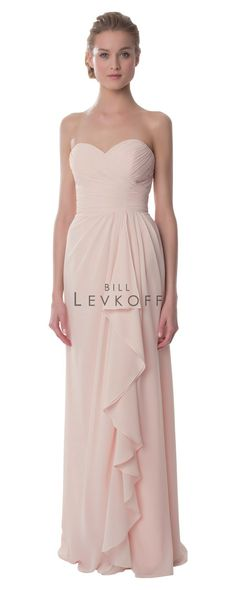 c30b4d6e0e3 Bill Levkoff Dress Style 987. Bill Levkoff DressesBill Levkoff BridesmaidBridesmaid  Dress StylesBridesmaidsStrapless GownChiffon DressOne Shoulder ...