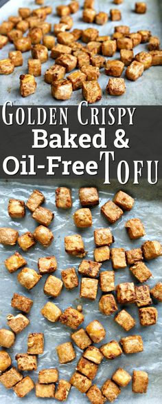 Baked and Oil-free Tofu