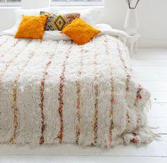 Moroccan wedding blanket!