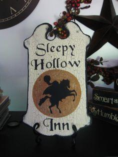 SLEEPY HOLLOW INN pub sign :)