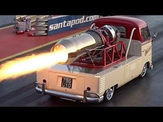 Must See: A 1958 VW Pickup Transformed Into A Jet On Wheels