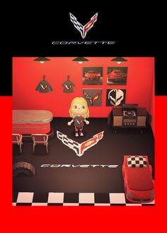 Transform your #AnimalCrossing world into a 2020 Corvette haven. See our Pins to download each item. Chevy, Chevrolet, Airsoft Guns, Car Wallpapers, Animal Crossing, Corvette, Smile, Cars, Poster