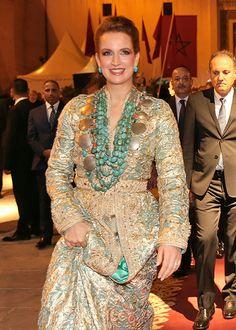 Princess Lalla Salma of Morocco at the Fez Music Festival (12/05/2017)