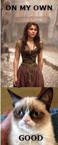 Eponine should get a cat...Oh wait, she's dead. D: