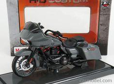 MAISTO 18856 Scale 1/18 HARLEY DAVIDSON DAVIDSON CVO ROAD GLIDE 2018 MATT GREY #harleydavidsonroadglideultra #harleydavidsonroadglideblack #harleydavidsonroadglide2018 #harleydavidsonroadglidespecial #harleydavidsonroadglidebaggers #harleydavidsonroadglide2016 Harley Davidson Cvo, Harley Davidson Road Glide, West Coast Choppers, Road King, Triumph Motorcycles, Cvo Road Glide, Ducati, Mopar, Motocross
