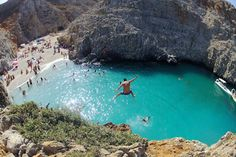 Seitan Limania beach. Chania, Crete, Greece