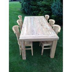 Teak tafel, 220 cm SUPER AANBIEDING