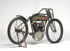 This 1918 Reading Standard Twin Racer (Lot S118) is estimated to fetch between $60,000 and $75,000