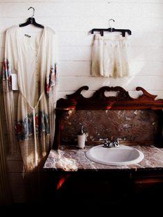 boho bathroom sink