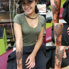 Anchor, Octopus and wheel tattoo by Jeff Ziozios at Bay City Tattoo Tampa #tattoo #tattoos #tattooed #tattooedwomen #girlswithtattoos #tampa #yborcity #baycitytattoos #tattoosbyjeffziozios #google #inked #inkedgirls #getink #anchor #anchortattoo #octopus #octopustattoo #wheel #nautical #nauticaltattoo #art #tattooart #inkstagram
