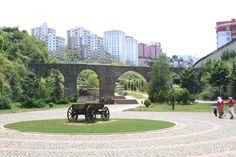 Aqueduct, Trabzon , Turkey Trabzon Turkey, Sidewalk, Turkey, Walkway, Walkways, Pavement