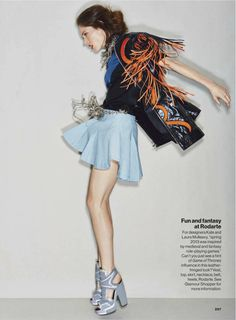 trends with benefits: coco rocha by patrick demarchelier for us glamour march 2013   visual optimism; fashion editorials, shows, campaigns & more!