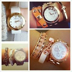 Favourite accessories... Marc Jacob watches
