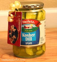 Pickles and Ice Cream (and cheap and easy gift idea for any expecting mom)