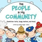 Who are the people in your neighborhood?  {Remember that old song from Sesame Street?  I still love it.}  Supplement your primary study of communit...