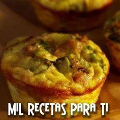 Mil Recetas para Ti: Mini Quiches con hongos y Salchichas de Pavo