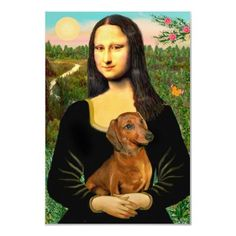 Mona Lisa and Doxie - seems legit to me.