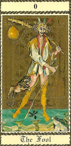 The Medieval Scapini Tarot by Luigi Scapini.