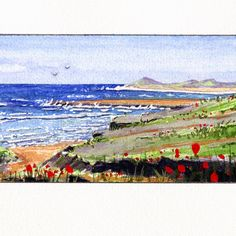 Calblanque water color on paper
