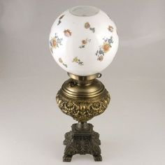 Lot: 1707: Kerosene Lamp, Lot Number: 1707, Starting Bid: $50, Auctioneer: Auctions By The Bay Inc, Auction: April Estate Auction, Date: April 10th, 2004 EDT
