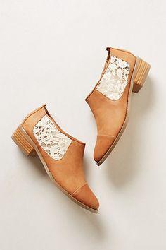 Zian Shooties  #anthropologie.....can you just imagine Nancy walking through some sort of passegeway wearing these shoes?