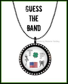 Do you need a hint? Last Dance with Mary Jane, Learning To Fly, American Girl ....maybe You Got Lucky? Tom Petty! Origami Owl meets music bands! http://toriandnacona.origamiowl.com