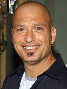 Howie Mandel. Said hello to him in customs once, wasn't interested in talking to me! And I didn't even touch him! :)