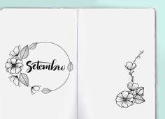 Quer aprender como decorar o seu planner ou bullet journal com doodle ou desenhos de flores? Baixe grátis o freebie com 7 tutoriais. Vem ver!