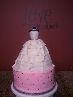 Cute dress cake!