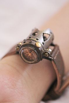 steampunk, watch