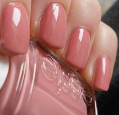"essie's ""eternal optimist"". Just painted my nails this color. The perfect pinky-nude :)"