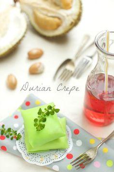 masam manis: DURIAN CREPE / DURIAN PANCAKE