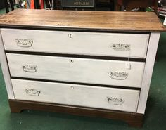 Redone 3 drawer dresser