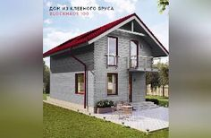 BLOCKHAUS -100 Shed, Outdoor Structures, Projects, House, Log Projects, Blue Prints, Home, Homes, Barns
