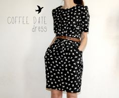 coffee date dress une