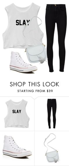"""""""Untitled #516"""" by aminamuratovic3 ❤ liked on Polyvore featuring Frame Denim and Converse"""