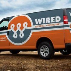Best Truck Wraps and Fleet Branding from KickCharge Creative Vehicle Signage, Vehicle Branding, Van Signs, Car Lettering, Van Wrap, Cool Vans, Transporter, Commercial Vehicle, Grafik Design