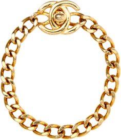 Carole Tanenbaum Vintage Chanel CC Turn-Key Bracelet on shopstyle.com
