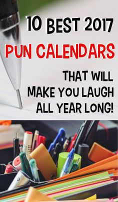 These pun calendars are so punny you'll get your daily laugh-a-day. Also comes as wall calendars and desk calendars. #christmasgifts #calendar #puns #punny #giftsforhim #giftforhim #giftsforher #giftsfordad #giftformom #giftforuncle #funny #funnyquotes #humor #jokes #pungifts #punnygifts