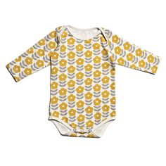 Our certified organic cotton snapsuits are a must for every baby. Girly Outfits, Simple Outfits, Cute Outfits, Elise Fashion, Kid Closet, Organic Baby Clothes, Long Sleeve Romper, Winter Outfits, Organic Cotton