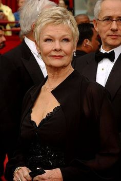 Judi Dench.  Isn't she just lovely!!