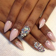 Treasure Nails from Tippie Toes Nail Care in Miami.
