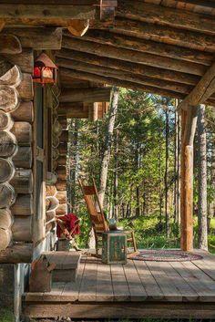 cabins exterior - nice porch