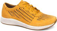 Kinda like the color -->WomensCharlieSneakers  inMustardSuedeLeather