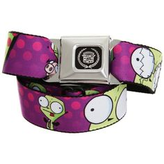 Hottopic - Search Results for belts ($26) ❤ liked on Polyvore featuring accessories, belts, gir and invader zim