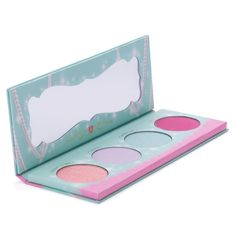 Let your inner princess shine! A high-glitz eyeshadow collection for living dolls. Ultra girly, shimmery shades to satisfy your sweet tooth!