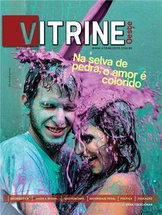 Capa da Revista Vitrine Oeste 1º Ano - Edição 02
