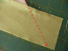 ...wie man Tischdecken mit Briefecken, oder Diagonalecken verschönern kann. Es ist zwar im Vergleich hierzu sicherlich die etwas aufwändiger...