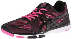 ASICS Women's Gel Exert TR Cross-Training Shoe,Black/Black/Knock Out Pink,5 M US ASICS http://www.amazon.com/dp/B00GXDMIQM/ref=cm_sw_r_pi_dp_On56vb19T8PYK