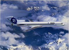 Boeing 707, Alaska Airlines, Vintage Air, Commercial Aircraft, Air Travel, Airports, Spacecraft, Planes, Airplanes